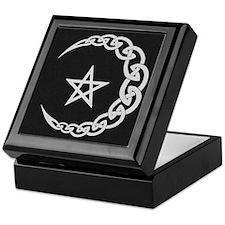 Celtic Moon Keepsake Box