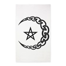 Celtic Moon 3'x5' Area Rug