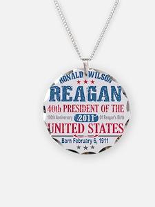 Ronald Reagan 4A Necklace