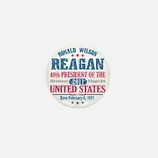 Ronald Reagan 4A Mini Button