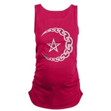Celtic Moon Maternity Tank Top