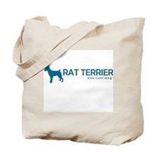 "Rat Terrier ""One Cool Dog"" Tote Bag"