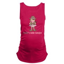 Daddys Lil Cowgirl Maternity Tank Top