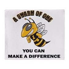 YOU CAN MAKE A DIFFERENCE  Throw Blanket