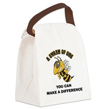 YOU CAN MAKE A DIFFERENCE  Canvas Lunch Bag