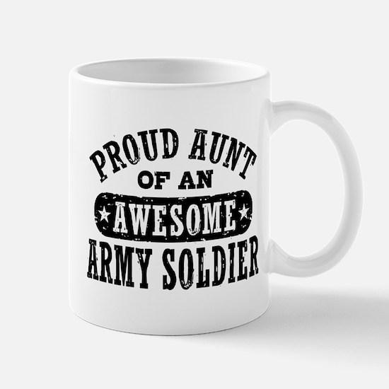 Proud Army Aunt Mug