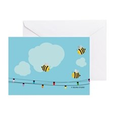 Merry Bees Greeting Cards (Pk Of 20)