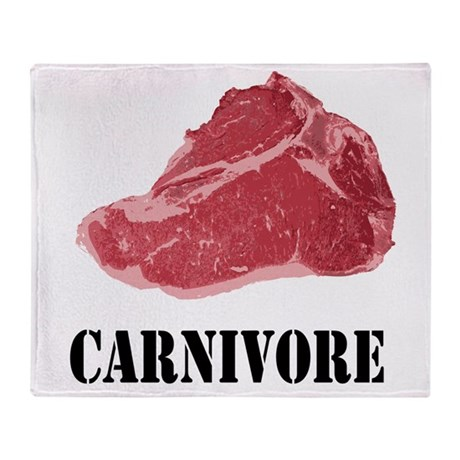 Carnivore Throw Blanket