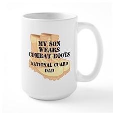National Guard Dad Daughter Desert Combat Boots Mu