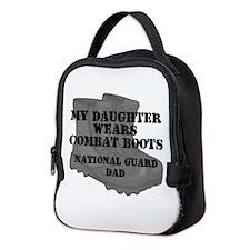 National Guard Dad Daughter Combat Boots Neoprene