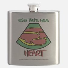 Echo Techs Have Heart Flask