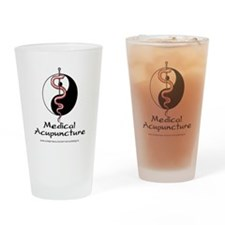 Medical Acupuncture Drinking Glass