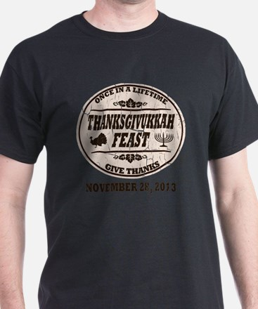 Vintage Once in a Lifetime Thanksgivu T-Shirt