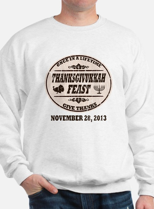 Vintage Once in a Lifetime Thanksgivukk Sweatshirt