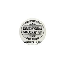 Vintage Once in a Lifetime Thanksgivuk Mini Button