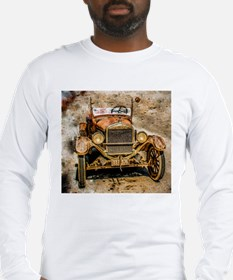 Beautiful Rust Long Sleeve T-Shirt