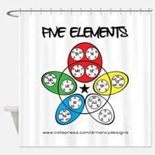 Five Elements Shower Curtain