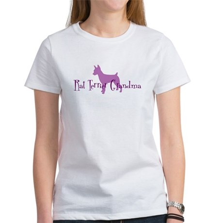 Rat Terrier Grandma Women's T-Shirt