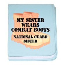 National Guard Sister Desert Combat Boots baby bla