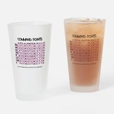 Command Points Drinking Glass
