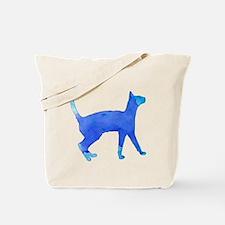 Watercolor cat Tote Bag