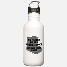 National Guard Sister Combat Boots Water Bottle