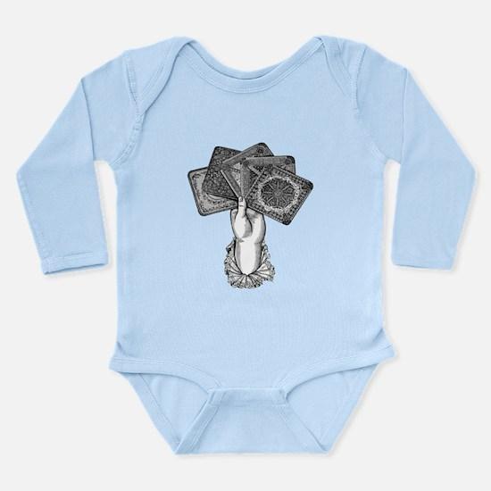 Fortune's Hand Long Sleeve Infant Bodysuit