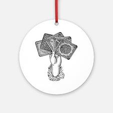 Fortune's Hand Ornament (Round)