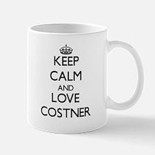Keep calm and love Costner Mugs