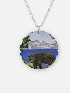 Unique Lake tahoe Necklace