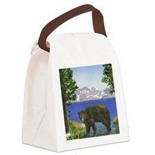 Cute Lake tahoe Canvas Lunch Bag