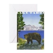 Unique Lake tahoe Greeting Card