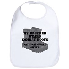 National Guard Sister Brother Combat Boots Bib