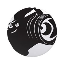 Camera - Photographer Ornament (Round)