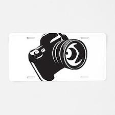 Camera - Photographer Aluminum License Plate