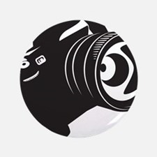 """Camera - Photographer 3.5"""" Button (100 pack)"""