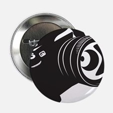 "Camera - Photographer 2.25"" Button (100 pack)"