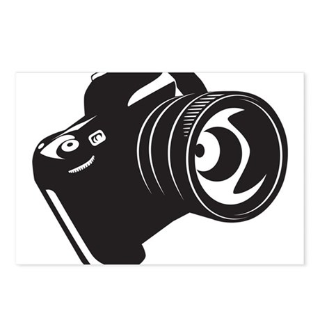 Camera - Photographer Postcards (Package of 8)