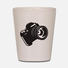 Camera - Photographer Shot Glass