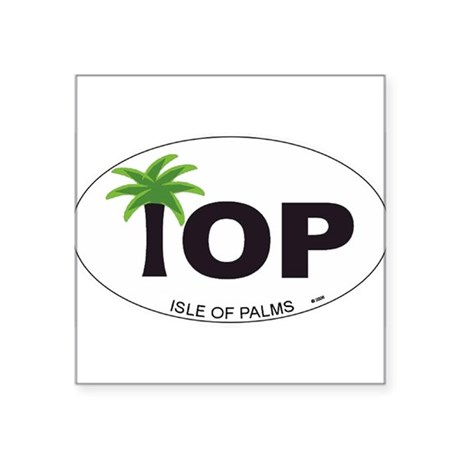 Isle of Palms Oval Sticker