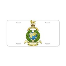 Royal Marines Aluminum License Plate