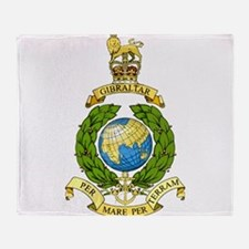 Royal Marines Throw Blanket