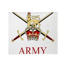 British Army Throw Blanket