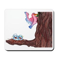 Early Bird Gets the Worm - Idiom Mousepad