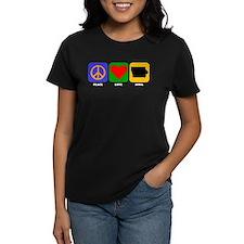 Peace Love Iowa T-Shirt