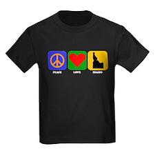 Peace Love Idaho T-Shirt