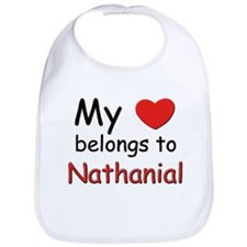 My heart belongs to nathanial Bib