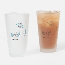 When Pigs Fly - Idiom Drinking Glass
