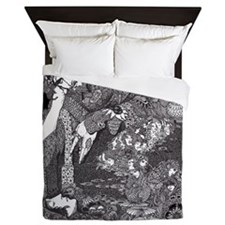 Morella by Harry Clarke Queen Duvet