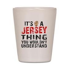 Jersey Thing Shot Glass